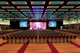 Large budget conference hotel