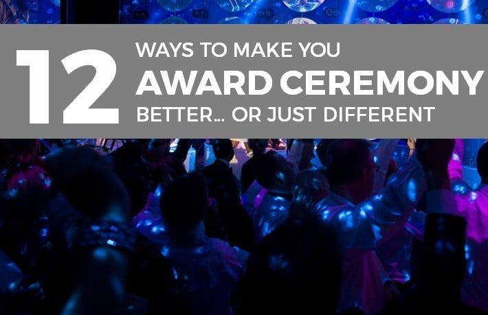 Award Ceremony Tips