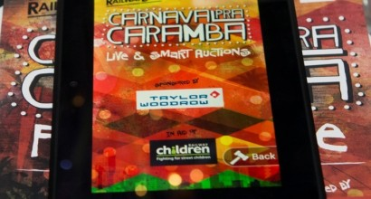 Charity Ball Organisers Guide to Silent Auction Technology