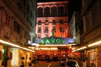 Luxury London Conference Hotels - Savoy