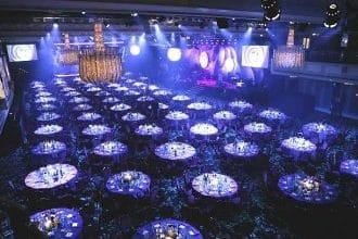 Large conference hotel on Park Lane