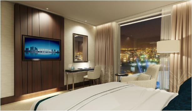 Bedroom at InterContinental O2