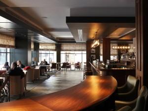 Blue Boar Bar Entrance
