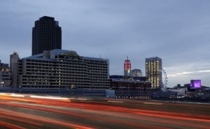 Luxury conference hotel in the River Thames