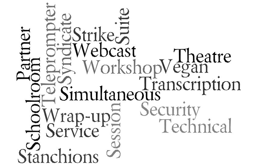Conference Terms S - Z