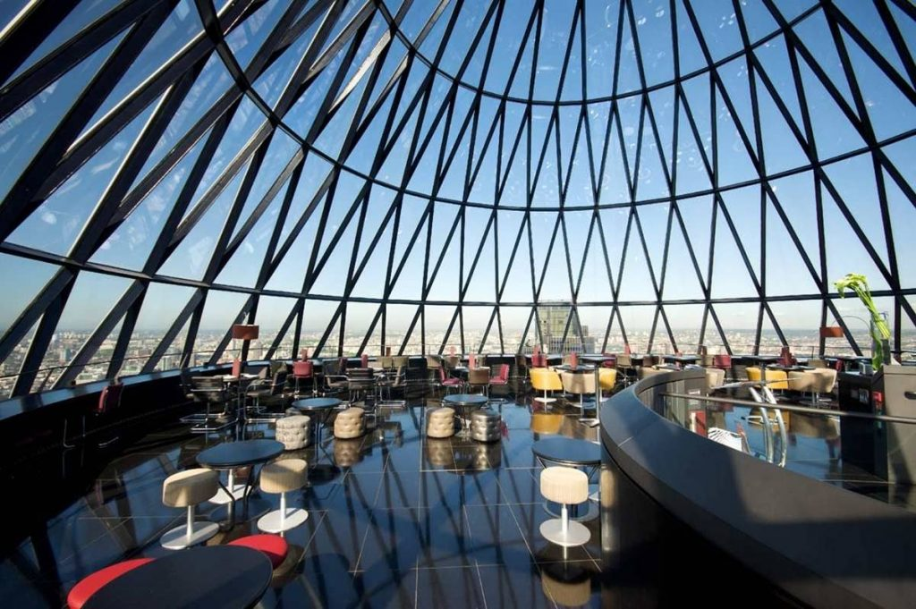 A venue with 360 degree view of London